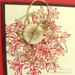 Awesomely Artistic Button Floral Card