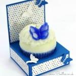 Cupcake Holder Box Tutorial using Stampin' Up! Supplies