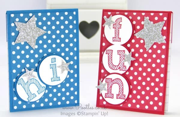 Stampin' Up! Demonstrator Pootles - Cute A7 Notebook with Stampin' Up! Epic Alphabet
