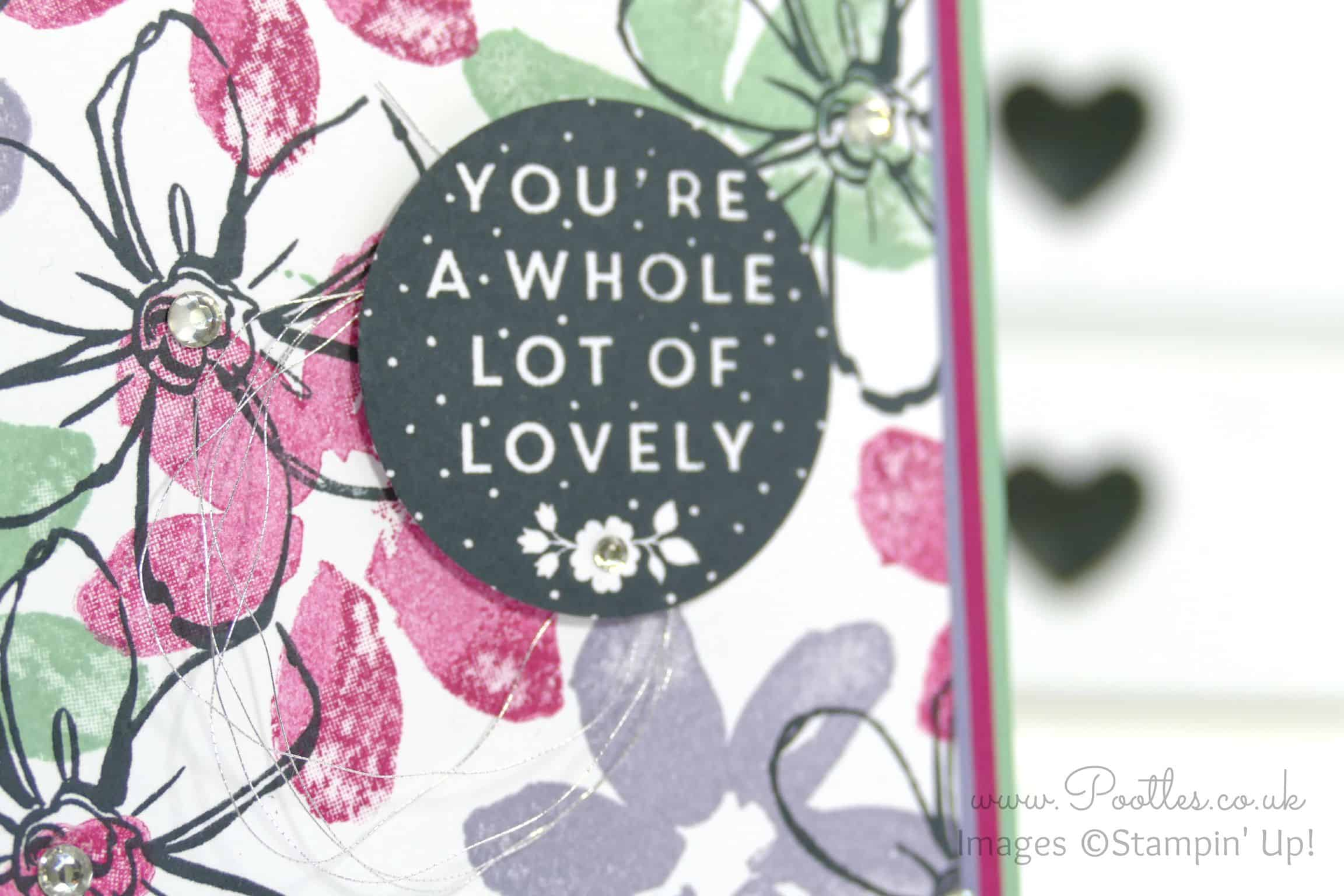 Garden in Bloom Card using Whole Lot of Lovely Hostess Set