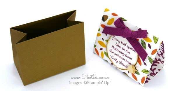 Stampin' Up! Demonstrator Pootles - Into The Woods Tent Tutorial Open