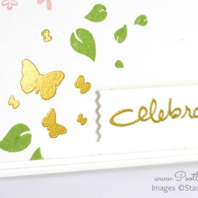 Perpetual Birthday + Gold Embossing. Celebrate!