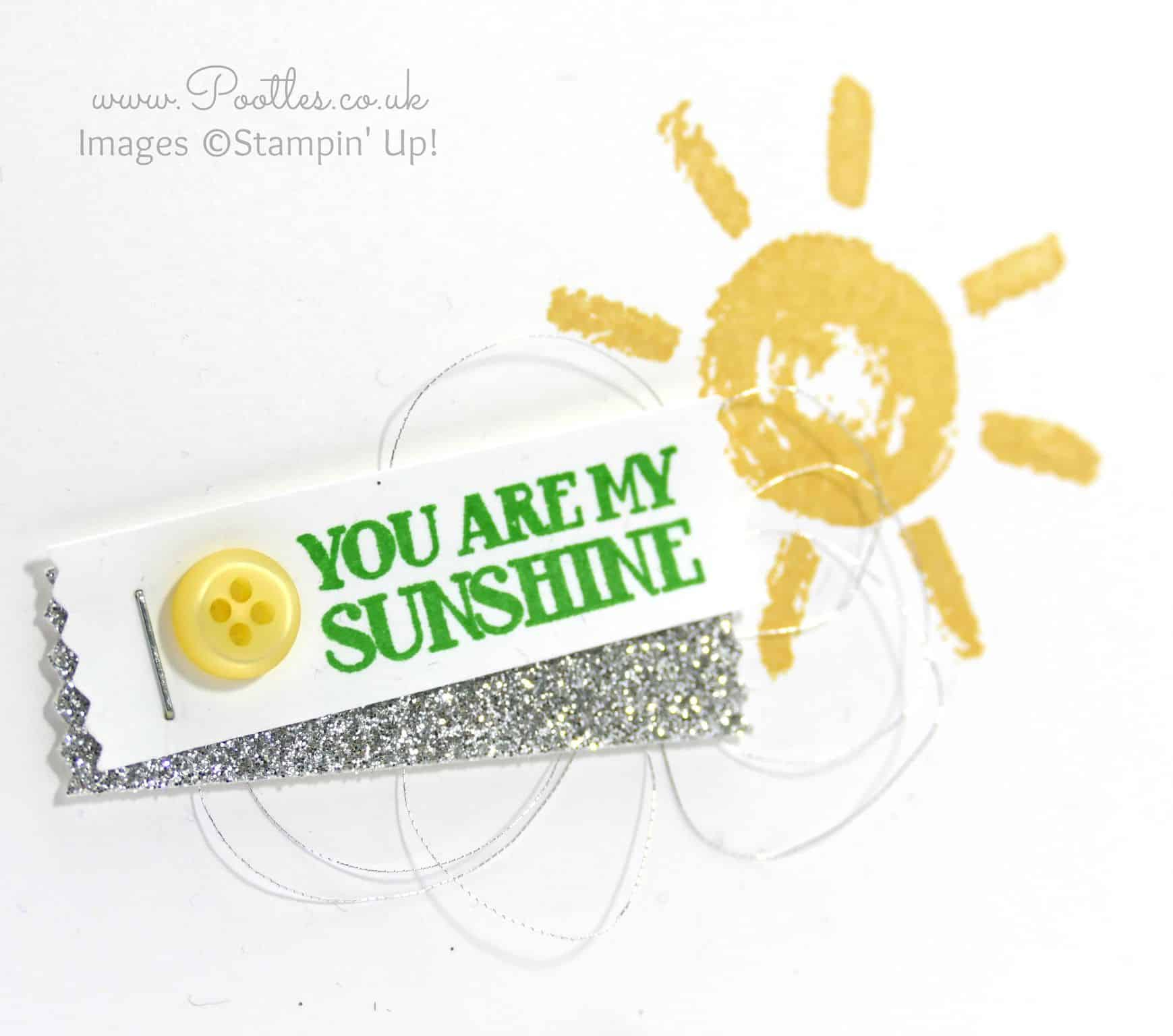 Simply Stamped, You are my Sunshine