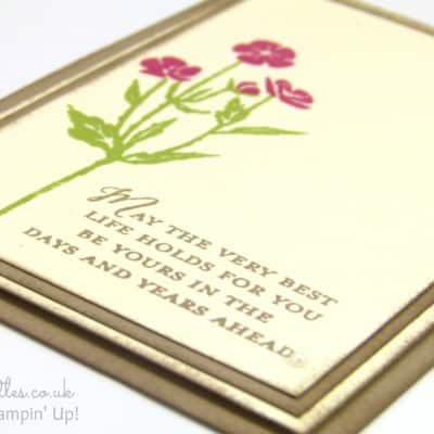 Wild About Flowers Card. Are You?