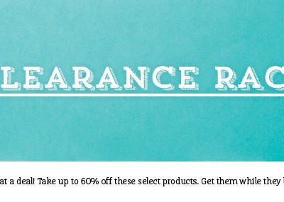 The Stampin' Up! UK & Europe Clearance Rack has been Updated!
