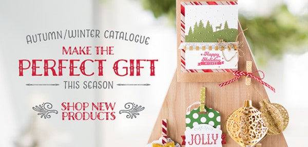 stampin up autumn winter catalogue