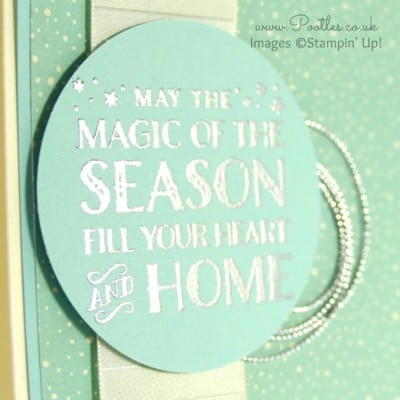 Pootlers Blog Hop – Cozy Christmas Silver Card