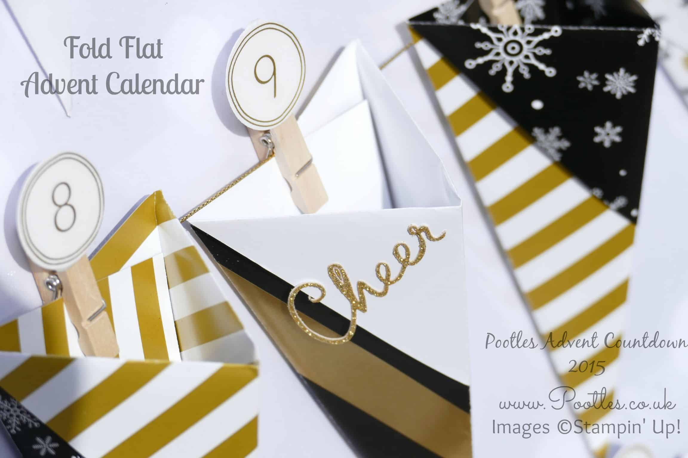 Pootles Advent Countdown #1 Advent Calendar Tutorial