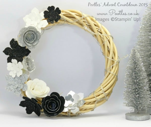 Pootles Advent Countdown #3 Christmas Wreath Tutorial