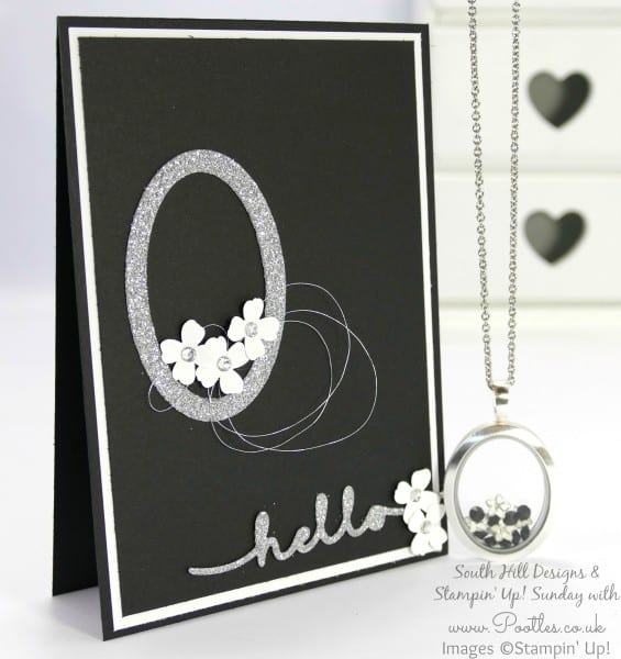 South Hill Designs & Stampin' Up! Sunday Beautiful Ovals