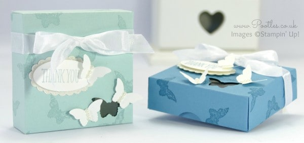 Stampin' Up! Demonstrator Pootles - Beautiful Butterfly Window Box Tutorial