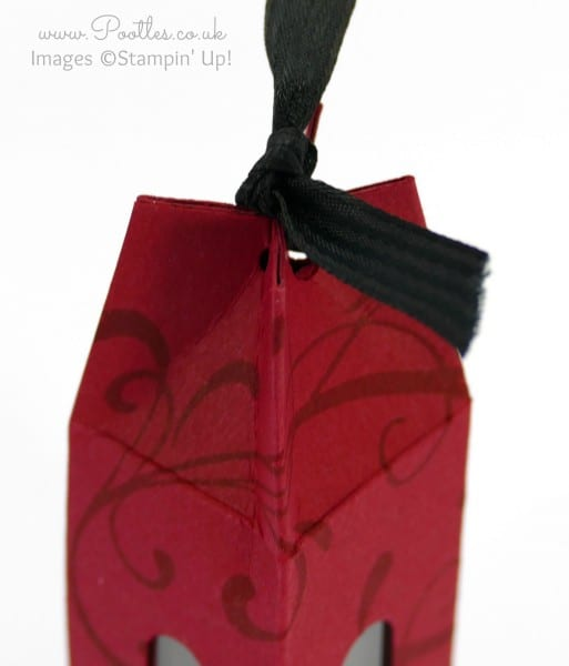 Stampin' Up! Demonstrator Pootles - Nail Polish Bottle Box Tutorial top