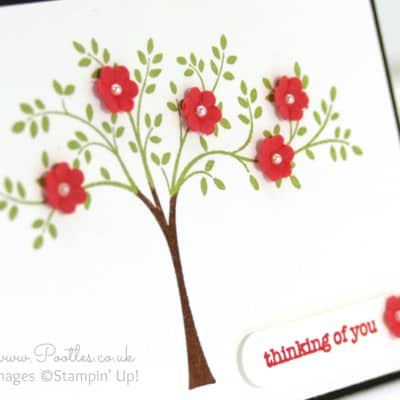 Adorable A7 Size Hopeful Thoughts Card