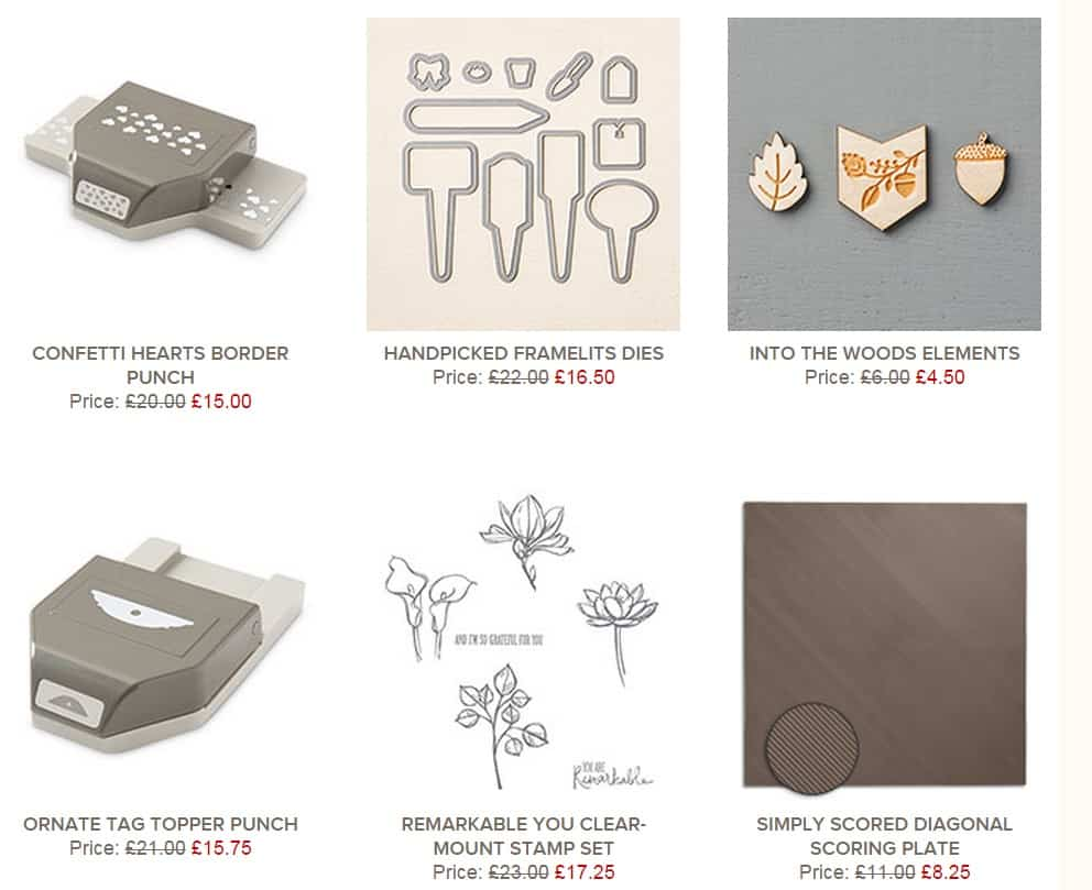 Stampin' Up! Weekly Deals… a blip!