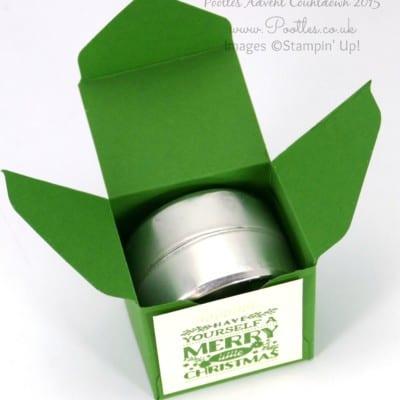 Pootles Advent Countdown #17 Envelope Punch Board Double Jumbo Tea Light Box Tutorial