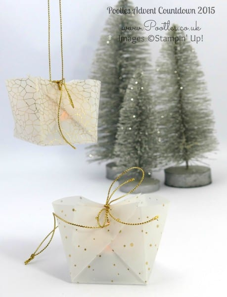 Pootles Advent Countdown #5 Adorable Hanging Lumiere Tutorial