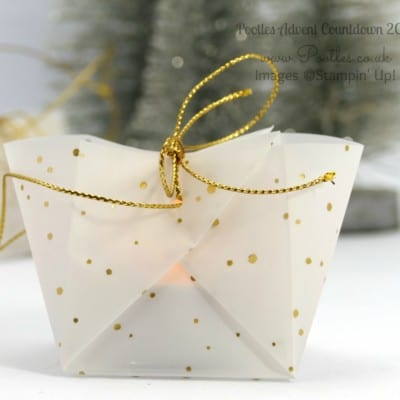 Pootles Advent Countdown #5 Adorable No Cut, No Stick Hanging Lumiere Tutorial