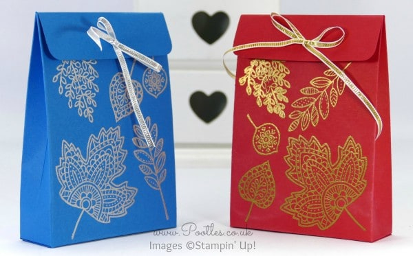 South Hill Designs & Stampin' Up! Sunday Bag Tutorial