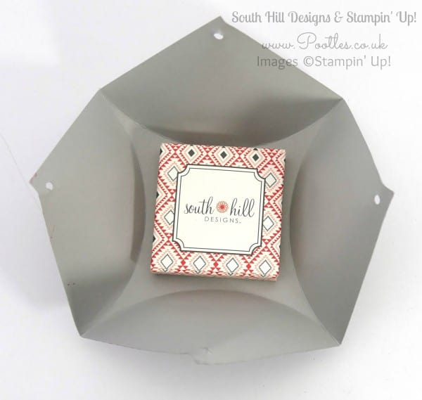 South Hill Designs  & Stampin' Up! Sunday Fluted Box & Locket Tutorial Open