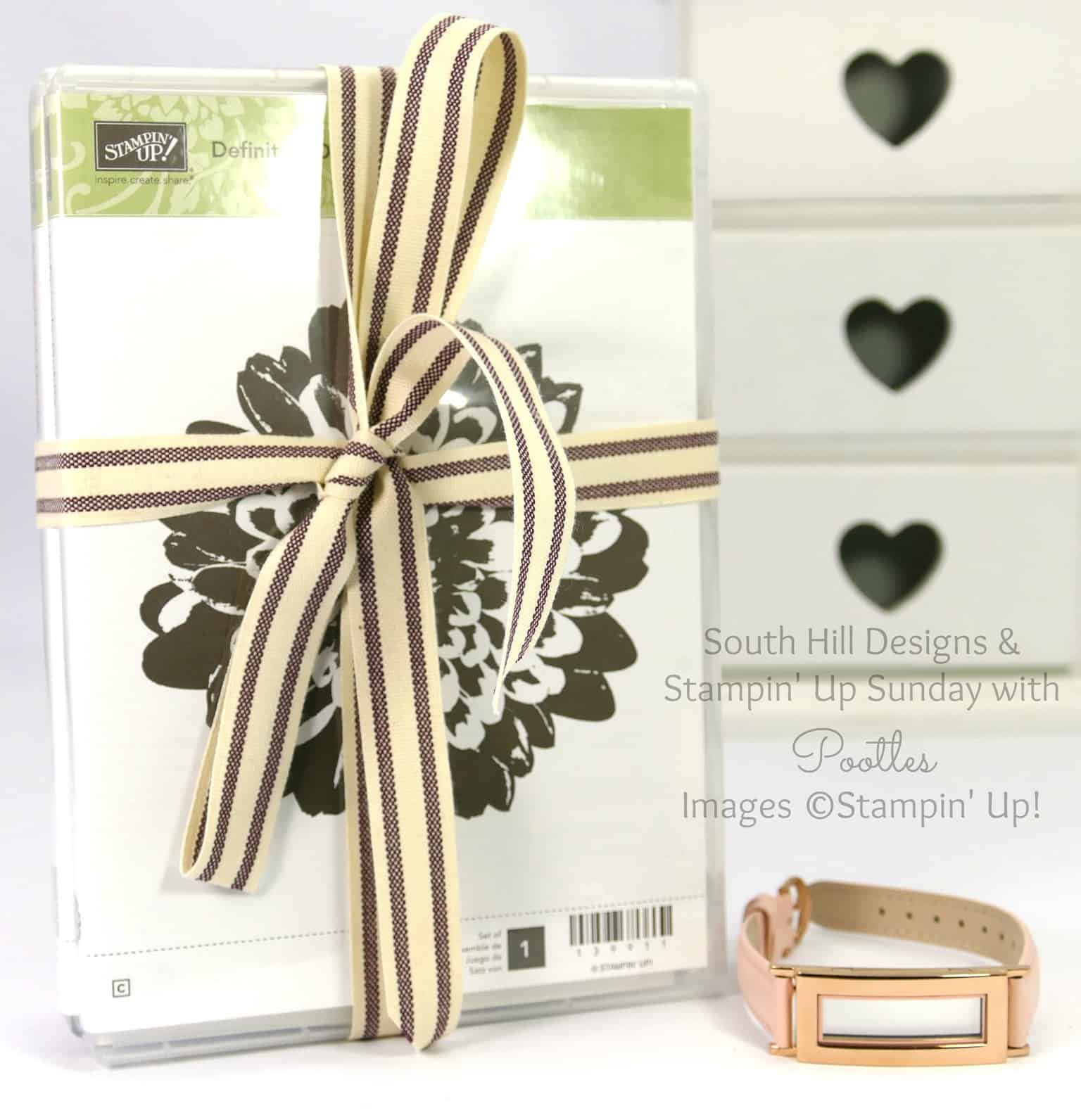 South Hill Designs & Stampin Up Sunday Huge Giveaway for BOTH!!!