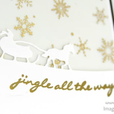 Jingle All The Way with Sleigh Ride Edgelits & Winter Wonderland