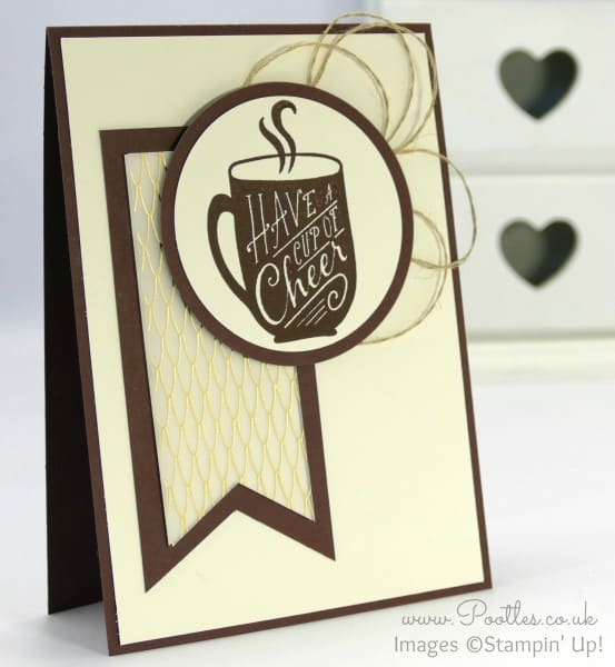Stampin' Up! Demonstrator Pootles - A Cup of Cheer and a Banner...!