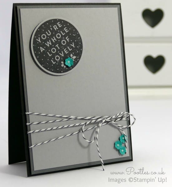 Stampin' Up! Demonstrator Pootles - A Whole Lot of Lovely and a flash of Bermuda Bay....