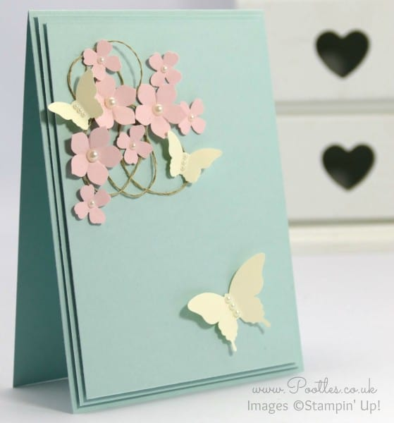 Stampin' Up! Demonstrator Pootles - Butterfly Card Inspiration from a Mobile Phone Case...