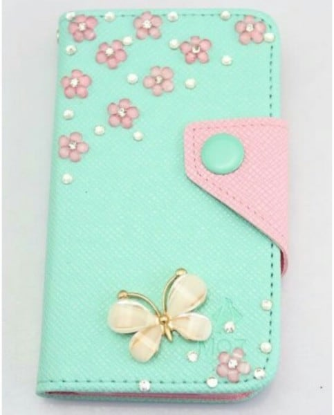Stampin' Up! Demonstrator Pootles - Butterfly Card Inspiration from a Mobile Phone Case... The case!