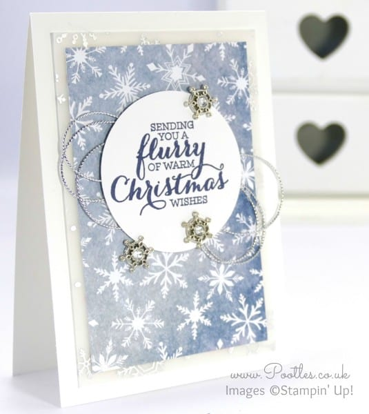 Stampin' Up! Demonstrator Pootles - Flurry of Wishes with Holiday Vellum and more!