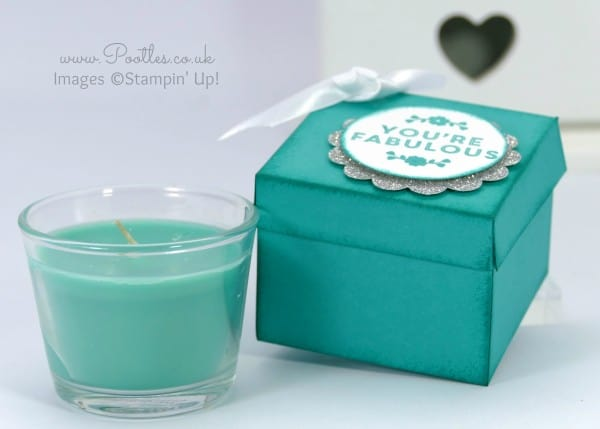 Stampin' Up! Demonstrator Pootles - Jacob's Ikea Candle Jar Box Tutorial using Stampin' Up! Supplies