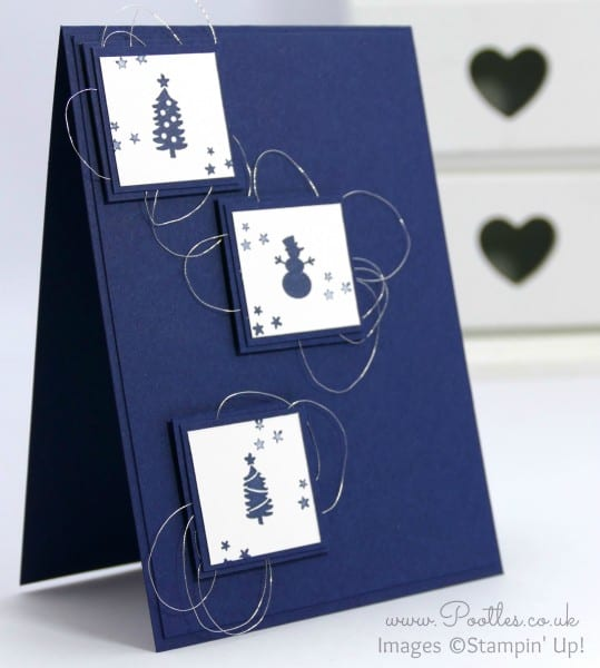 Stampin' Up! Demonstrator Pootles - Jingle All The Way Inchie Card