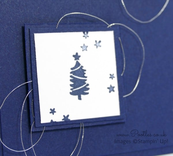 Stampin' Up! Demonstrator Pootles - Jingle All The Way Inchie Card Close Up