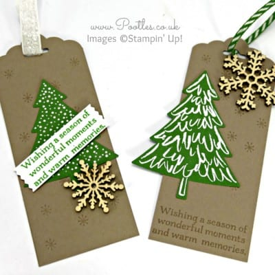 Perfect Peaceful Pines – Christmas Tags