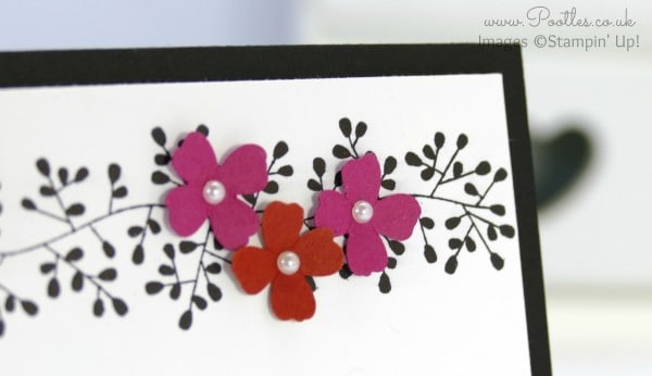 Stampin' Up! Demonstrator Pootles - Simple card for a friend, inspired by... my hair close up