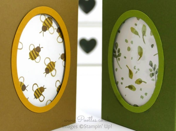 Stampin' Up! Demonstrator Pootles - Window Bag Tutorial using Stampin' Up! English Garden DSP Window Effect