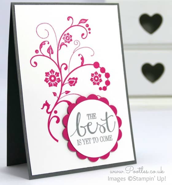 Welcome Cards for my new Stampin' Up! Team!