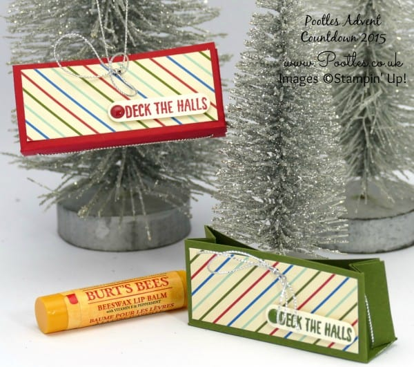 Pootles Advent Countdown #19 Hanging Lip Balm Box Tutorial