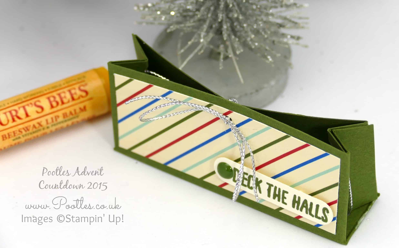 Pootles Advent Countdown #19 Hanging Lip Balm Box Tutorial