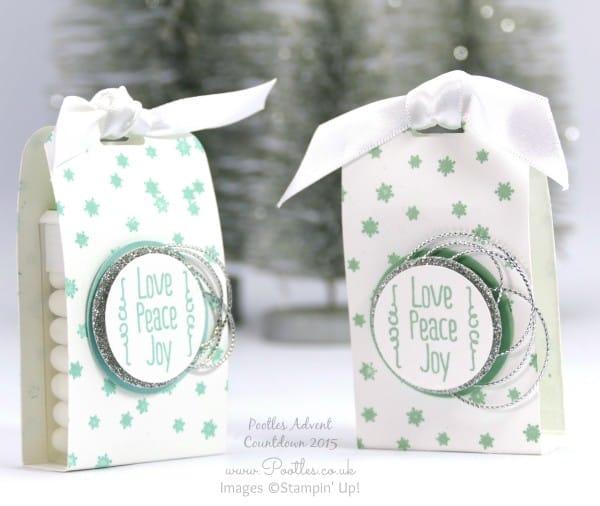 Pootles Advent Countdown #21 Tic Tac Craft Fayre Goodies Tutorial