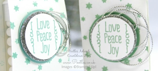 Pootles Advent Countdown #21 Tic Tac Craft Fayre Goodies Tutorial Close Up