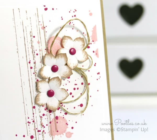 Stampin' Up! Demonstrator Pootles - Just Because it's Gorgeous Grunge! Close Up