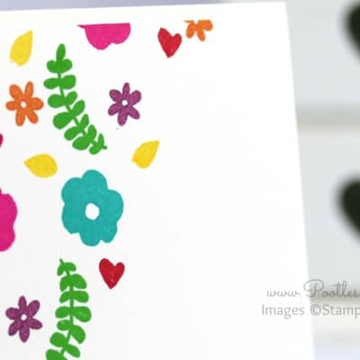 Single Layer Stamping with Endless Thanks by Stampin' Up!