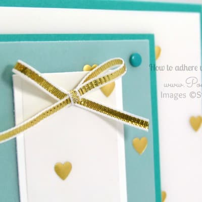 Vellum Card Tutorial with Adhesive Ideas