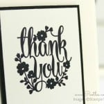 A Whole Lot of Lovely – Thank you Card