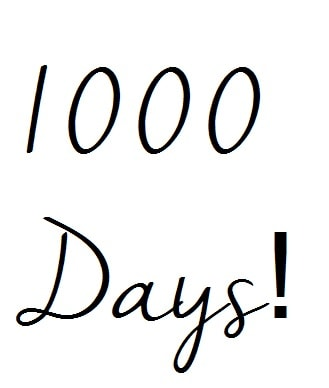 1000 Days as a Stampin' Up! Demonstrator….
