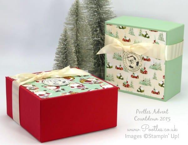 Pootles Advent Countdown 2015 #23 Huge Gift Box Tutorial