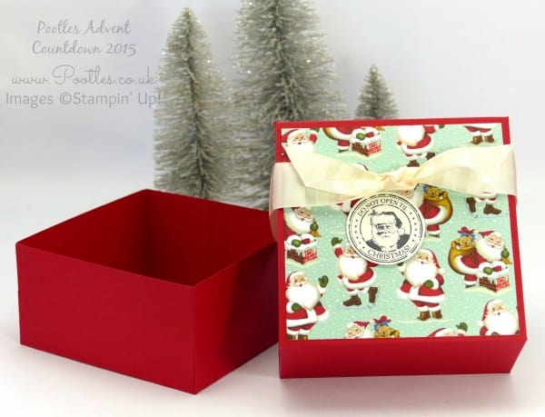 Pootles Advent Countdown 2015 #23 Huge Gift Box Tutorial Open
