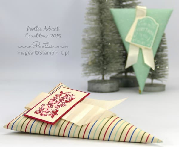 Pootles Advent Countdown 2015 #25 Pinched Flattened Cone Tutorial