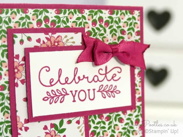 South Hill Designs & Stampin' Up! Sunday Inspiration 12 Deals of Christmas close up